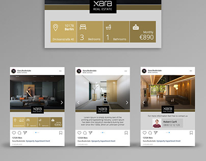 Template Design, Social Media Design